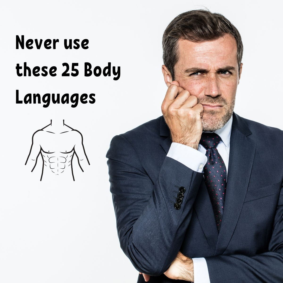 25 Body Language Signs Which Are a Big No!