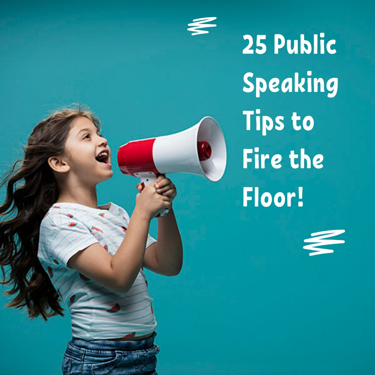 25 public speaking tips to fire the floor