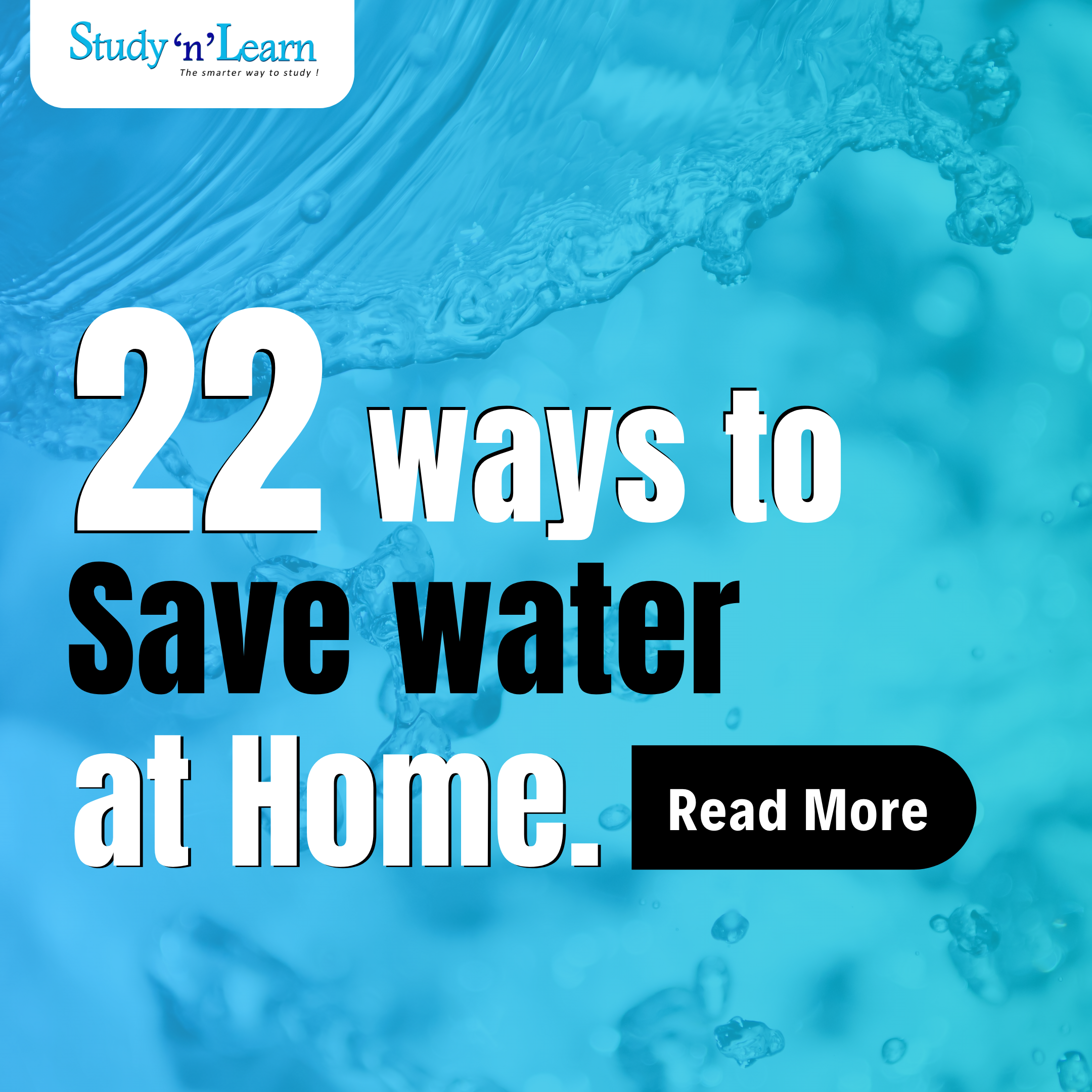 22 Ways to Save Water at Home