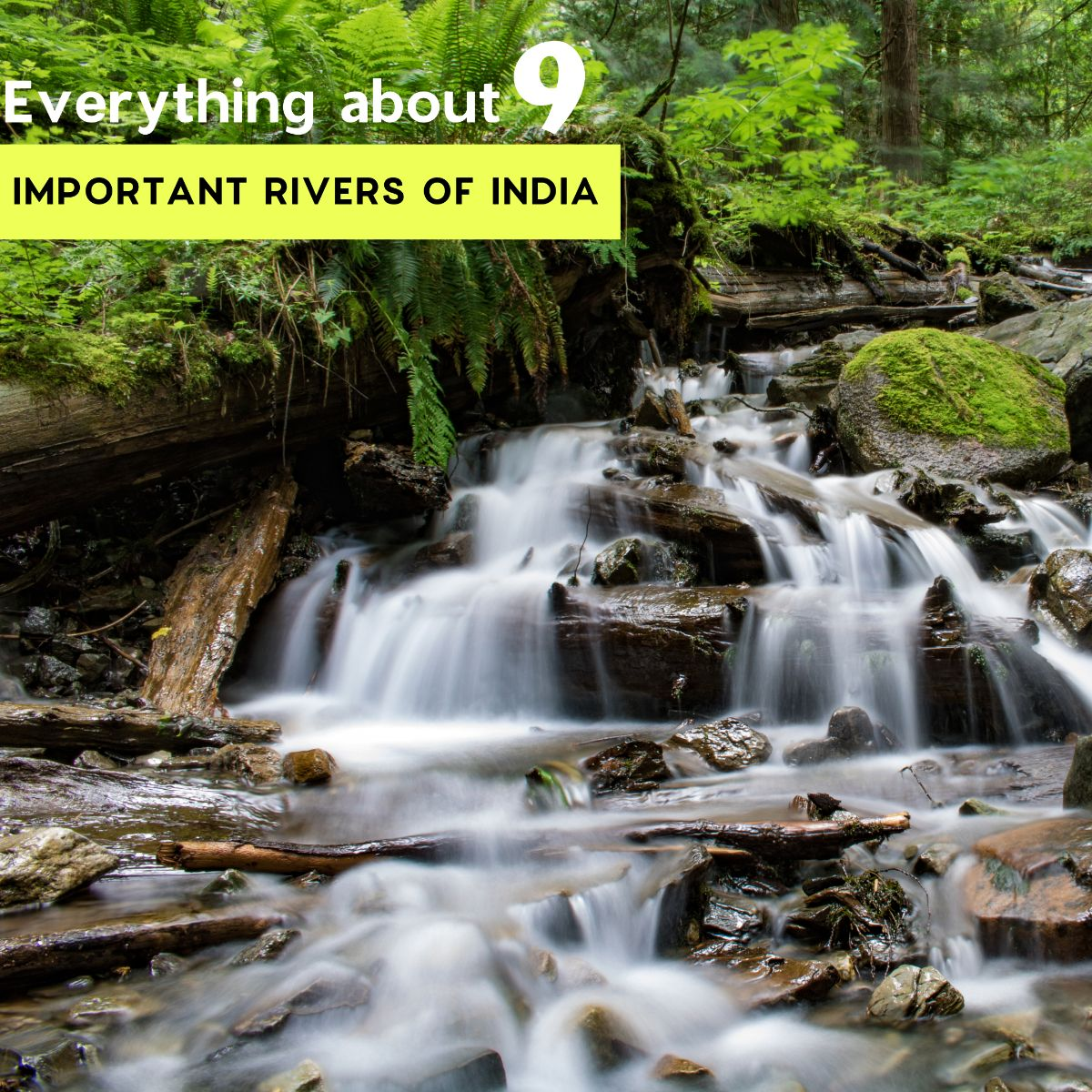 Everything about the 9 Important Rivers of India!