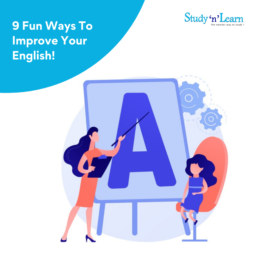 9 Fun and Easy Ways To Improve Your English!