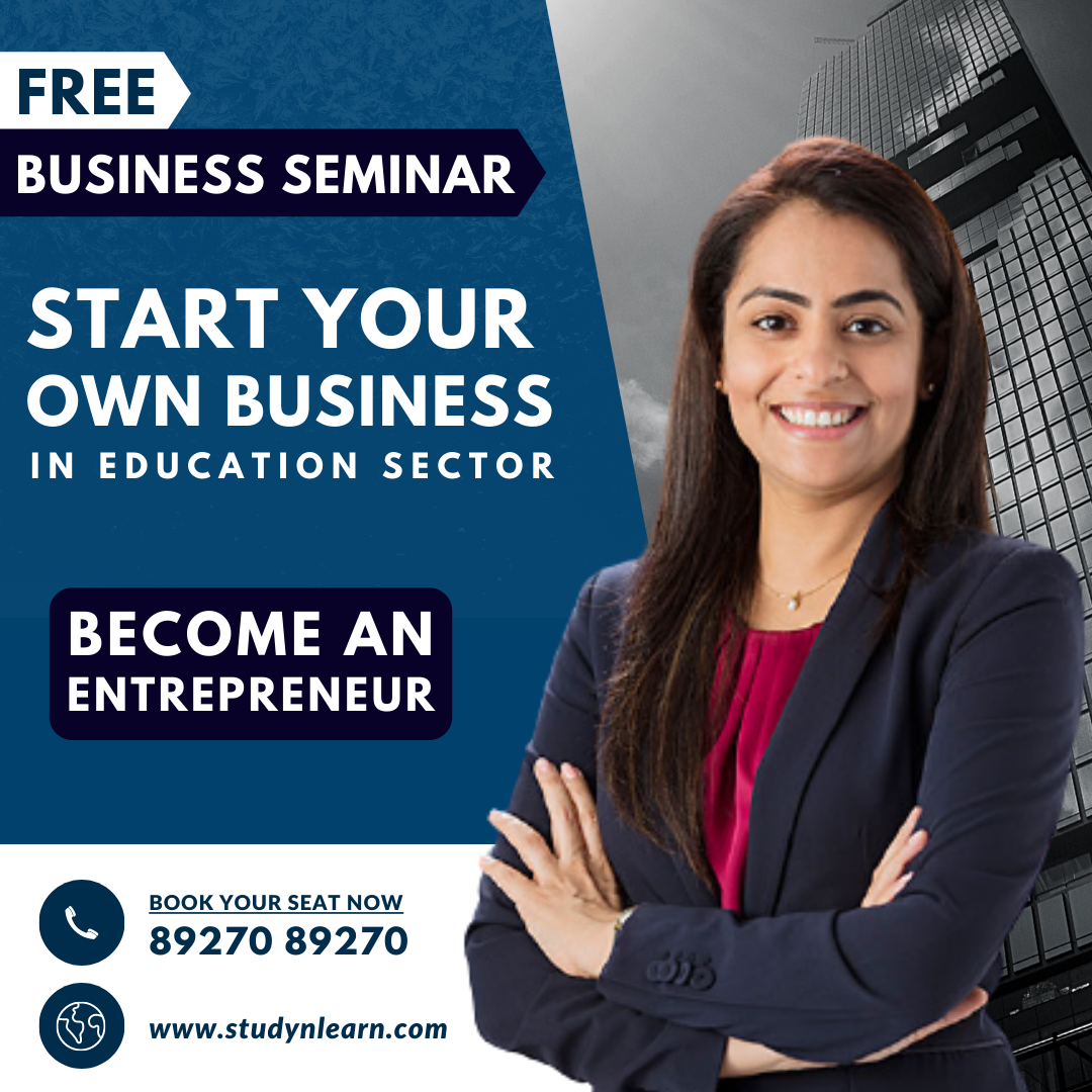 Biggest Business Opportunity in India in Education Sector : Business Seminar 2021
