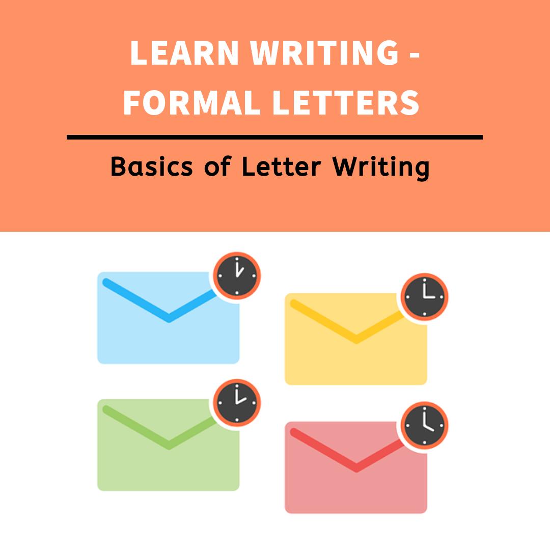 Format of letter writing-Formal Letters with examples