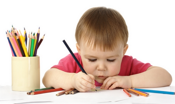 How to develop writing skills in a preschooler