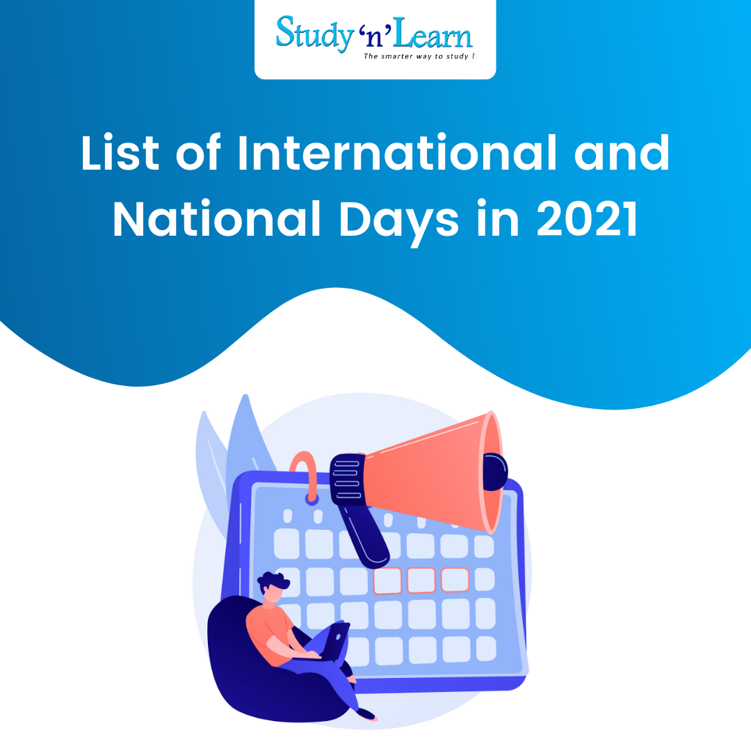 List of National and International Days in 2021