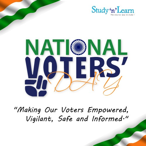 National Voters' Day 2021: Your Vote Counts! Your Vote Matters