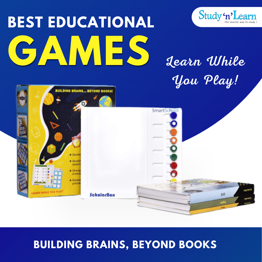 Best Fun and Educational Board Games for Kids- Scholar Box & Puzzlemania | Class 1-V | Maths, English and EVS.